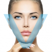 V-shape botox - faceslimming