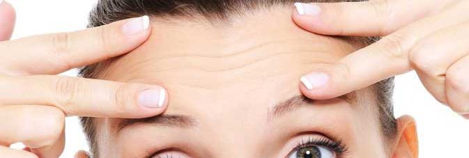 botox behandeling fronsrimpel